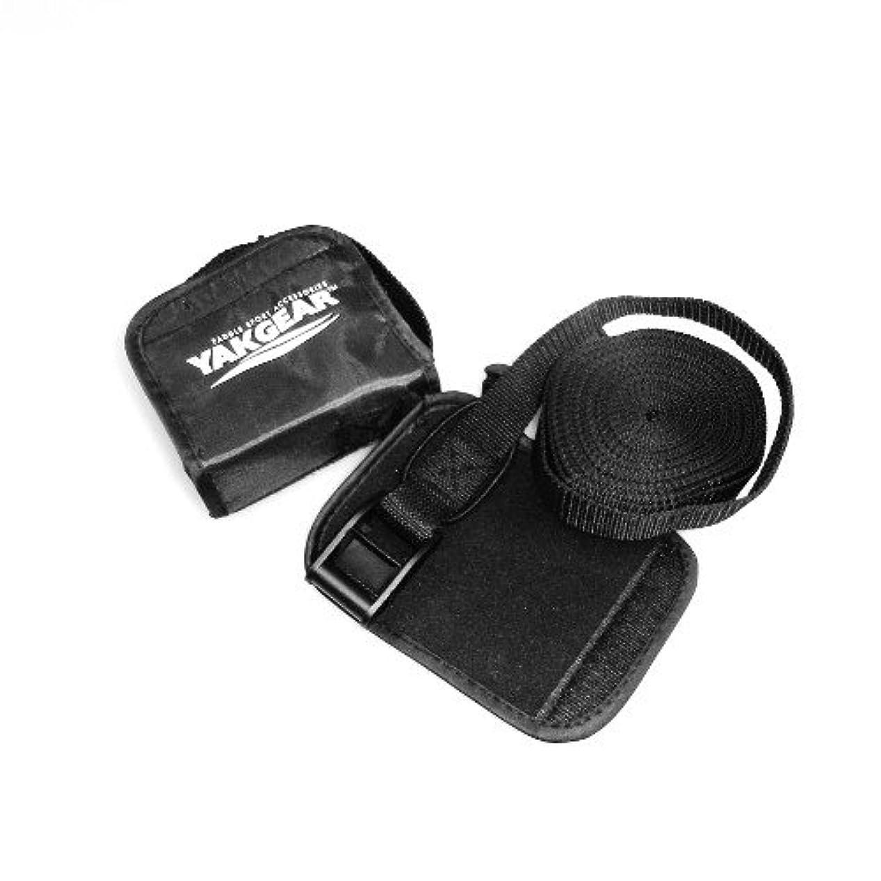 バトルつらいフォームYak Gear(ヤックギア) タイダウン ストラップ 2セット 保護パッド付き ベルト 4.5m