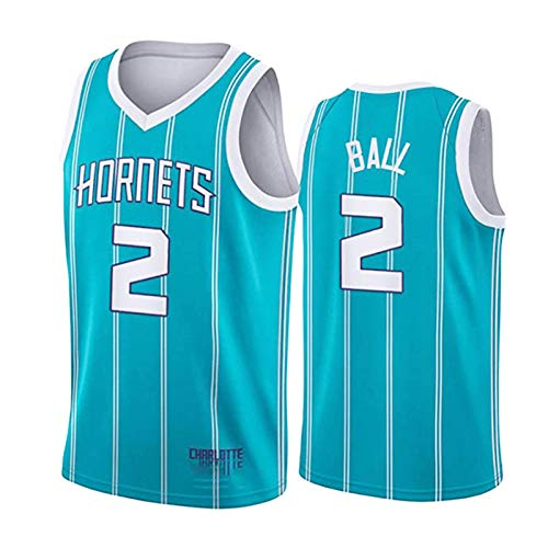 Ball Hornets Hombres Baloncesto Jerseys Bordados Baloncesto Fan Jerseys Clásico, Retro Transpirable Chaleco Top Sin Mangas Juego De Baloncesto Ropa Al Aire Libre 21 Temporada Nuevo A-S