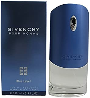 GIVENCHY POUR HOMME BLUE LABEL by Givenchy 3.3 Ounce / 100 ml EDT Men Cologne Spray