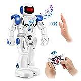 Remote Control Robot Toys for Kids-RC Robot Gesture Sensing Robot Programmable Smart Interactive Infrared Sensing Robot, Sing Dancing & Walking Robot Toy Christmas & Birthday Gift for Boys & Girls