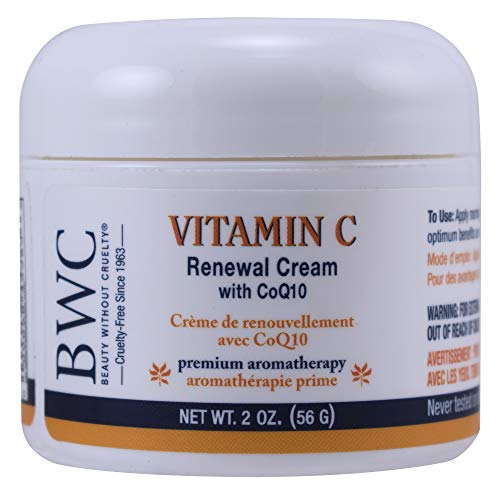 Beauty without Cruelty Renewal Moisturizer Vitamin C with coq10, 2oz