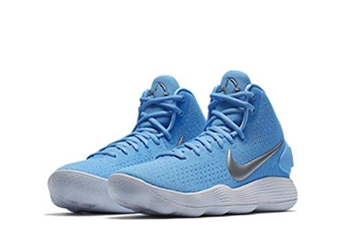Nike Women's Hyperdunk 2017 TB Basketball Shoe University Blue/Metallic Silver/White Size 6.5 M...