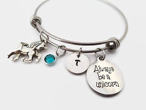 Unicorn Seasonal Wrap Introduction bangle bracelet Max 75% OFF Always a personali be unicorn