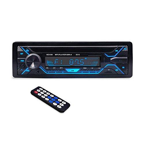 Boomboost Nouveau 3010 Bluetooth Voiture MP3 Lecteur Unique Din Voiture Stéréo Audio 12 V Bluetooth in-Dash FM 1 Din Voiture Aux Lecteur MP3 Voiture