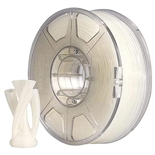 Pa Nylon Line 3D Printer Consumables FDM Material 1kg Spool High Toughness, Wear-Resistant, Transparent Line, Good Electrical Insulation-2.85mm