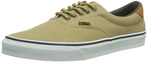 Vans U ERA 59, Sneaker Unisex - adulto, Beige (khaki/was / DCX), 35 (5.5 uk)