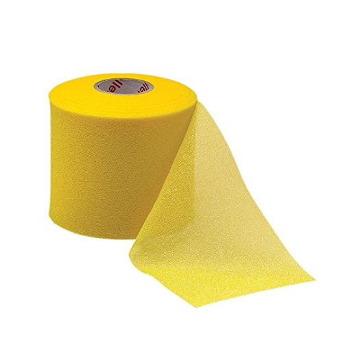 Mueller M-Wrap Pre wrap for Athletic Tape (Big Gold, 4 Rolls)