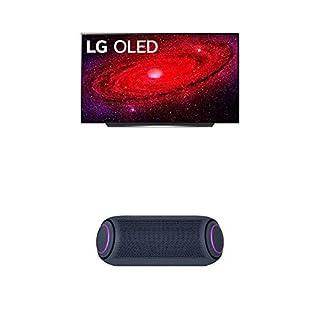 "LG OLED77CXPUA Alexa Built-in CX 77"" 4K Smart OLED TV (2020) w/ PL7 XBOOM Go Water-Resistant Wireless Bluetooth Party Speaker (B08NYLHJWW)   Amazon price tracker / tracking, Amazon price history charts, Amazon price watches, Amazon price drop alerts"