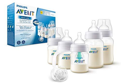 Philips Avent scd808/01Kit Anti Colique bouteilles avec robinet AirFree, Biberon et Tétine