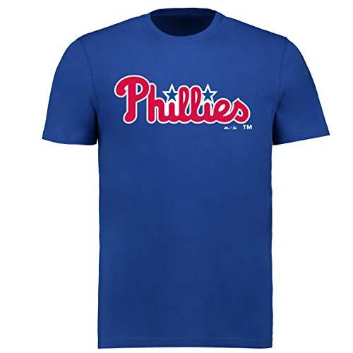 Fanatics MLB Philadelphia Phillies Bryce Harper #3 T-Shirt Baseball Jersey Trikot (3XL)