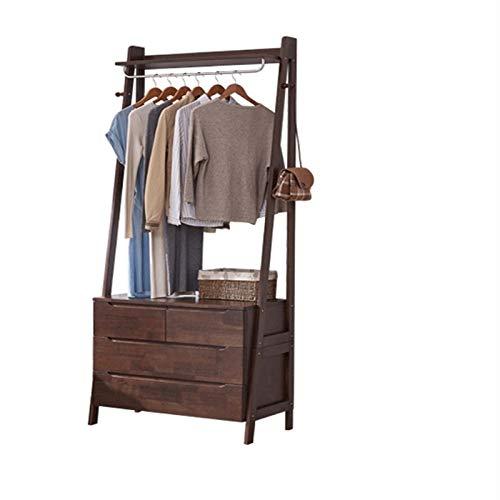 Dfghbn Perchero de pie con percha para el suelo, para dormitorio, ropa para el hogar, simple y moderno con percha para gabinete (color blanco, tamaño: 197 x 42 x 84 cm)