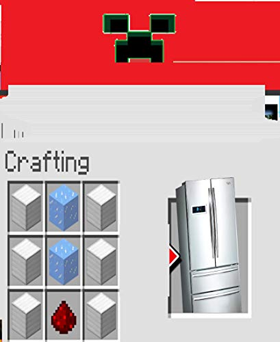 Minecraft- How to make a Modern Fridge (English Edition)