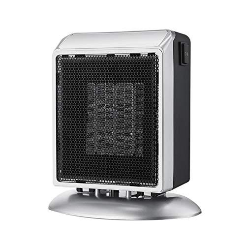 Calefactor cerámico 900w Termoventilador con termostato, Calefacción Eléctrica, Dormitorio, Baño, Cocina, vestidor, Baño, Escritorio