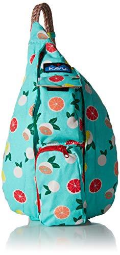 KAVU Women's Mini Rope Bag, Citrus Grove, No Size