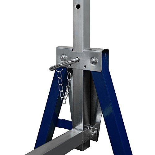 2x Gerüstbock Unterstellbock Klappbock Stützbock höhenverstellbar 81-130 cm Gerüst 400kg Tragkraft insgesamt - 6