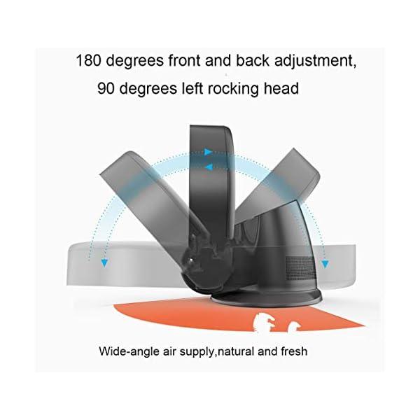 Tochange-Abanico-sin-Hojas-Ventilador-sin-Cuchillas-de-Seguridad-Ultra-silencioso-Ahorro-de-energa-Ventilador-de-Cabeza-sacudidora-de-Piso-para-Montaje-en-Pared-Ventilador-de-Aire-AcondicionadoGris