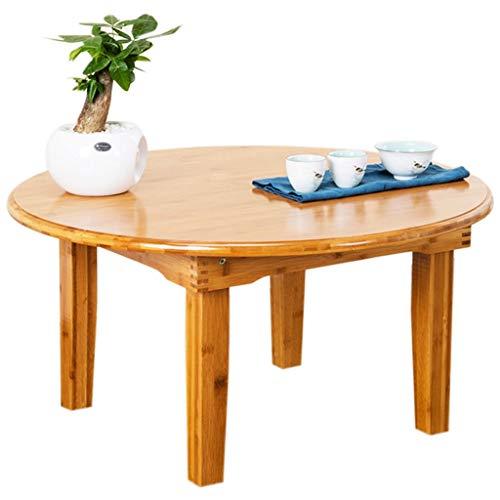 YShop Table Pliante, Table en Bois Tout Usage for Bureau extérieur/intérieur for Pique-Nique, Table de Repas for Le Camping, la Plage, Le Camp ou la terrasse (Color : 60cm)