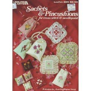 Sachets & pincushions for cross stitch & needlepoint: 16 designs