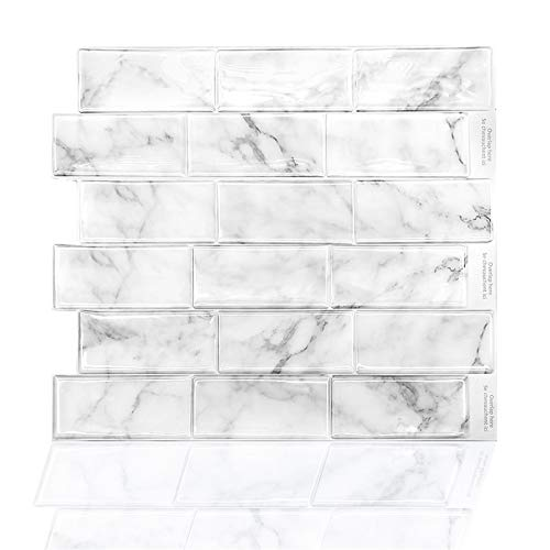 GuoQiang Zhou Adhesivo autoadhesivo para pared de vinilo, 10 unidades