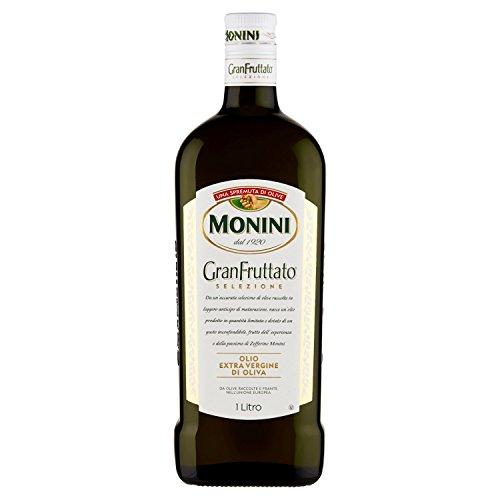 Monini Granfruttato Olio Extra Vergine di Oliva -1 Bottiglia da 1 Litro