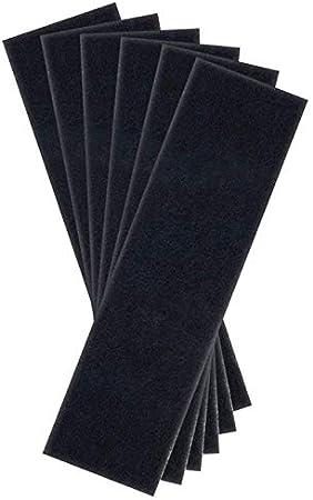 Accesorios para Aspiradora AD-Filtros avanzados Carbono Premium reemplazo activado Pre Filtro de 6 paquetes Compatible con purificador de aire modelos de series AC4800 (AC Filtrar (Color : Black) : Amazon.es: Hogar