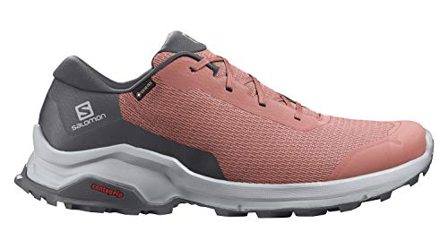 Salomon X REVEAL GTX W Scarpe con Tecnologia GORE-TEX per Camminate ed Escursionismo, Donna, Brick Dust/Ebony/Pearl Blue, 42 EU
