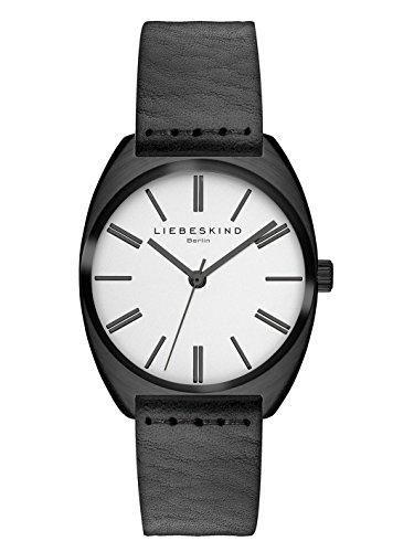 Liebeskind Berlin Damen-Armbanduhr Vegetable Analog Quarz Leder