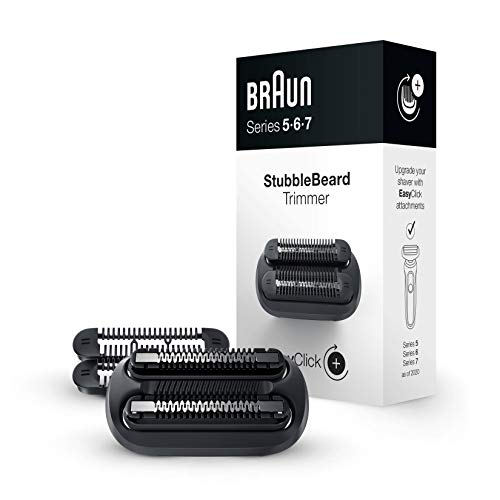 Braun EasyClick Accesorio de Recortadora de Barba de 3 Días para Afeitadora Eléctrica Hombre Series 5, 6 y 7