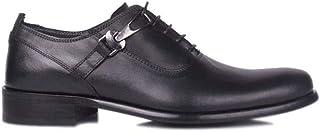 Erkan Kaban 801 014 Erkek Siyah Deri Klasik Ayakkabı 47