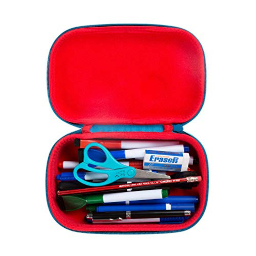 ZIPIT Wildlings Pencil Case/Pencil Box/Storage Box, Blue Photo #4