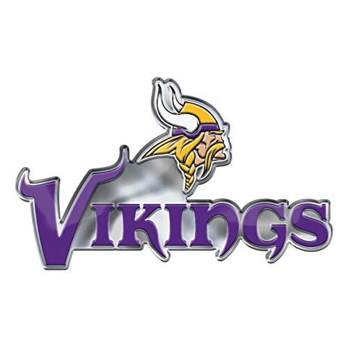 FANMATS NFL Minnesota Vikings Alternative Color Logo Emblem, Purple, One Size