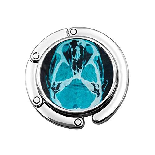 Scan Film Röntgen-Scanner des Kopfes Anatomie Körper Gesicht Faltbare Handtasche Haken Geldbörse Haken Kleiderbügelhalter für Autotisch