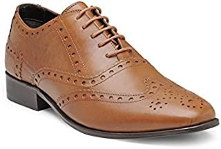 Franco Leone Men's Leather Formal Shoes