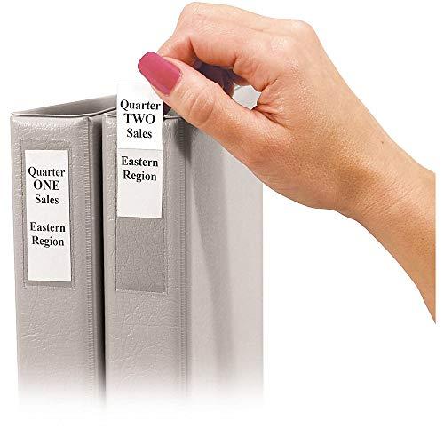 C-Line Self-Adhesive Binder Label Holders for 1-1/2
