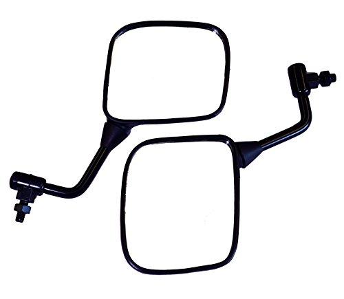 2x Specchio retrovisori compatibile per Yamaha RD 350 SRX 600 XJ 750 900 FJ 1100 36Y-26290G-00