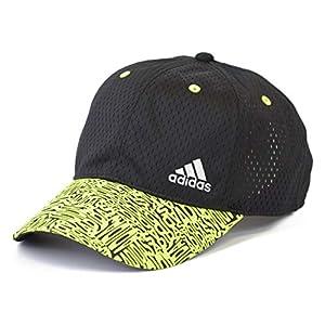 (アディダス) adidas キッズ 帽子 キャップ 洗濯機洗い 子供 CAP 男の子 女の子 小学生 サッカー 運動 紫外線予防 紫外線対策 ひよけ 熱中症 ボーイズ 001k (01 ブラック)