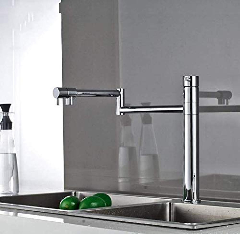 Wasserhahn Armaturen Wasserhahn Kupfer Küchenarmatur 360 Grad Teleskop Faltende Erhhung Waschbecken Wasserhahn