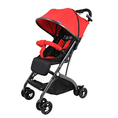 Buy Comfortable Prams Baby Stroller High Landscape Can Sit Reclining Light Folding Lever Type Free I...