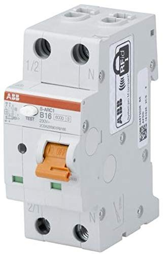 ABB Stotz S&J Stotz - Interruttore antincendio B10,6kA,1P+N S-ARC1 B10