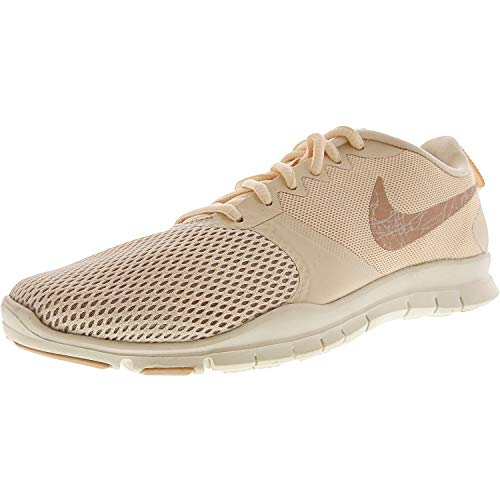 Nike Damen WMNS Flex Essential Tr Laufschuhe, Mehrfarbig (Guava Ice/Particle Beige/Sail 801), 38.5 EU