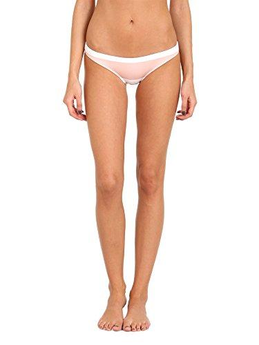 Cali Dreaming Pandora Bikini Bottom Scuba Nude/White