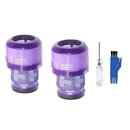 Baalaa 2 filtros de repuesto para V11 SV14 Animal Torque Drive Aspirador Kit con cepillo de limpieza y destornillador