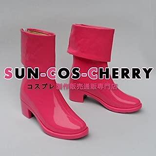 【サイズ選択可】コスプレ靴 ブーツ Z1-059 ONE PIECE ワンピース たしぎ 女性24CM