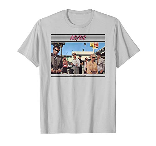 AC/DC Dirty Deeds Done Dirt Cheap T-Shirt, 5 Colors, Adult, Child, up to 3XL