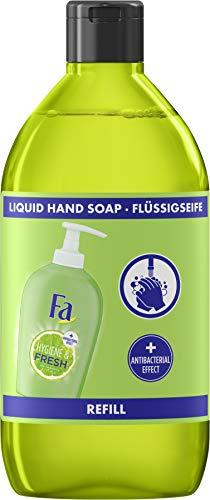 Fa Hygiene & Frische Flüssigseife mit erfrischendem Limetten-Duft, Refill, 385 g