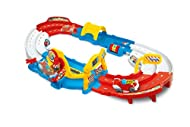 The fun goes down to the track for breathtaking races! A track full of activities and with a talking and interactive car. Pressing the pilot's head once or several times, the car starts to run along the track. The car moves with realistic sound effec...