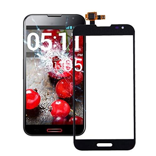 Phone Screen Replacement Touch Panel Digitizer Part for LG G2 / VS980 / F320 / D800 / D801 / D803 (Black) (Color : Black)