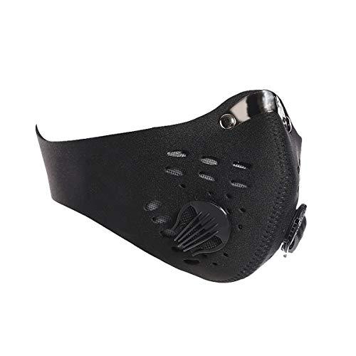 Dust Masks - anti air Pollution Smoke Masks - Reusable Face Masks, adjustable Filter Masks, activated Carbon Dustproof Sport Masks For Outdoor Light Bicycle Helmet Face Masks For Kids
