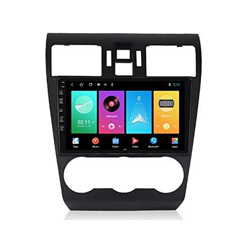 Amimilili Android 9 Car Radio de navegación GPS para Subaru Forester 2013-2015 9 Pulgada Bluetooth/USB/WiFi/FM / MP5 /Manos Libres/Enlace Espejo/Control del Volante,M100 1+16g