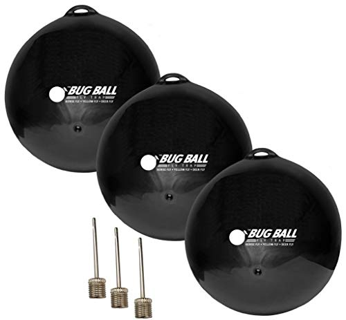 Bug Ball Replacement Ball, 3 Pack- Odorless Eco-Friendly Biting Fly and Insect Killer with NO Pesticides or Electricity Needed, Kid and Pet Safe